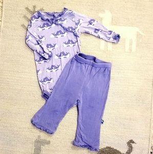 Kickee Pants matching set